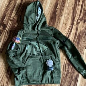Boys NFL salute to service Nike hoodie